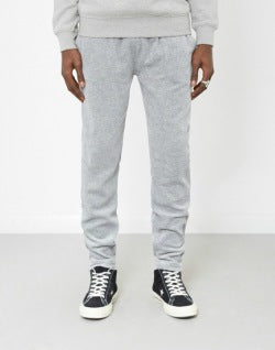the-idle-man-Velour-Joggers-Grey