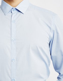 the idle man blue dress shirt for men