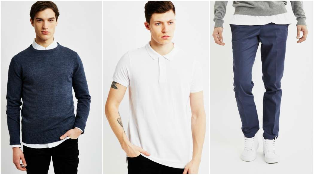 the-idle-man-blue-jumper-white-polo-shirt-navy-chinos-outfit-grid