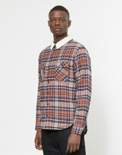 the-idle-man-brushed-check-shirt-with-borg-collar-rust-1712312241023_1