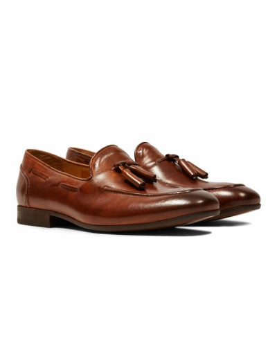 the idle man hudson leather loafer