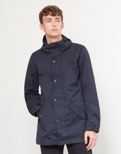 The Idle Man Lightweight Parka Navy