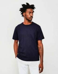 the idle man navy tshirt armor lux