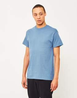 the idle man perfect t-shirt blue