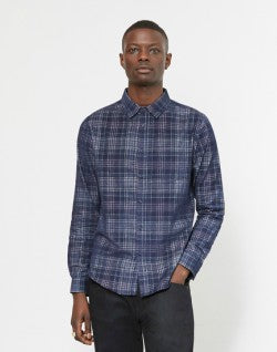 the-idle-man-printed-check-cord-shirt-navy-1712312240973_3