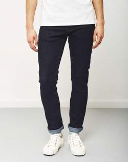 the idle man slim fit jeans rinse for men