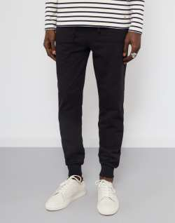 The Idle Man Slim Fit Jogger Black