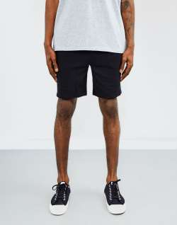 The Idle Man Sweat Shorts Black