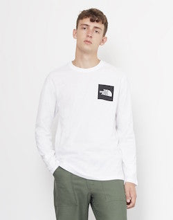 the-north-face-long-sleeve-fine-t-shirt-white