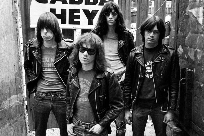 The Ramones Leather Jacket