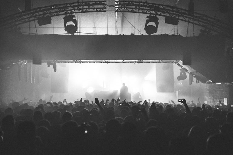 the warehouse project crowd