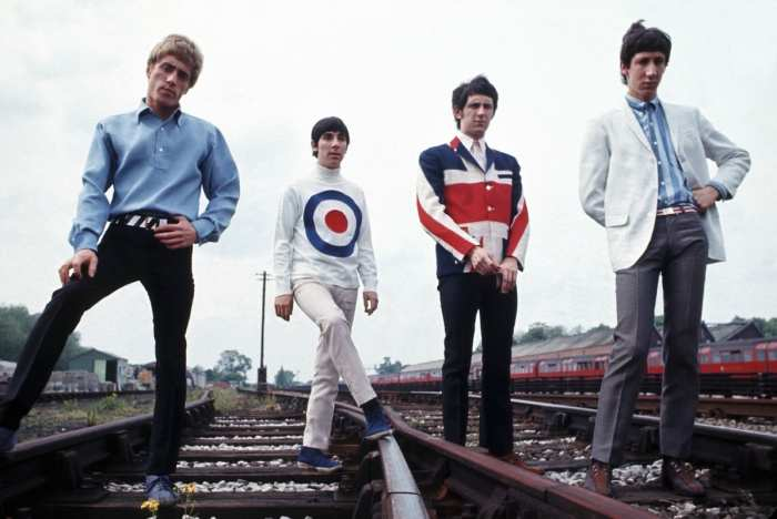 the who mod look 60s