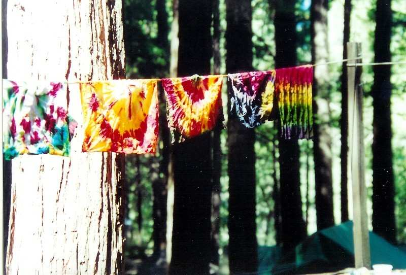 how to tie dye at home