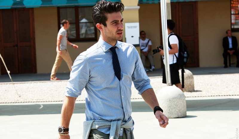 tie inside your shirt men style streetstyle menswear