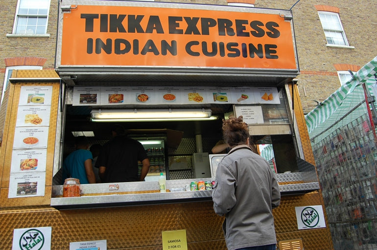 tikka express indian cuisne petticoat lane
