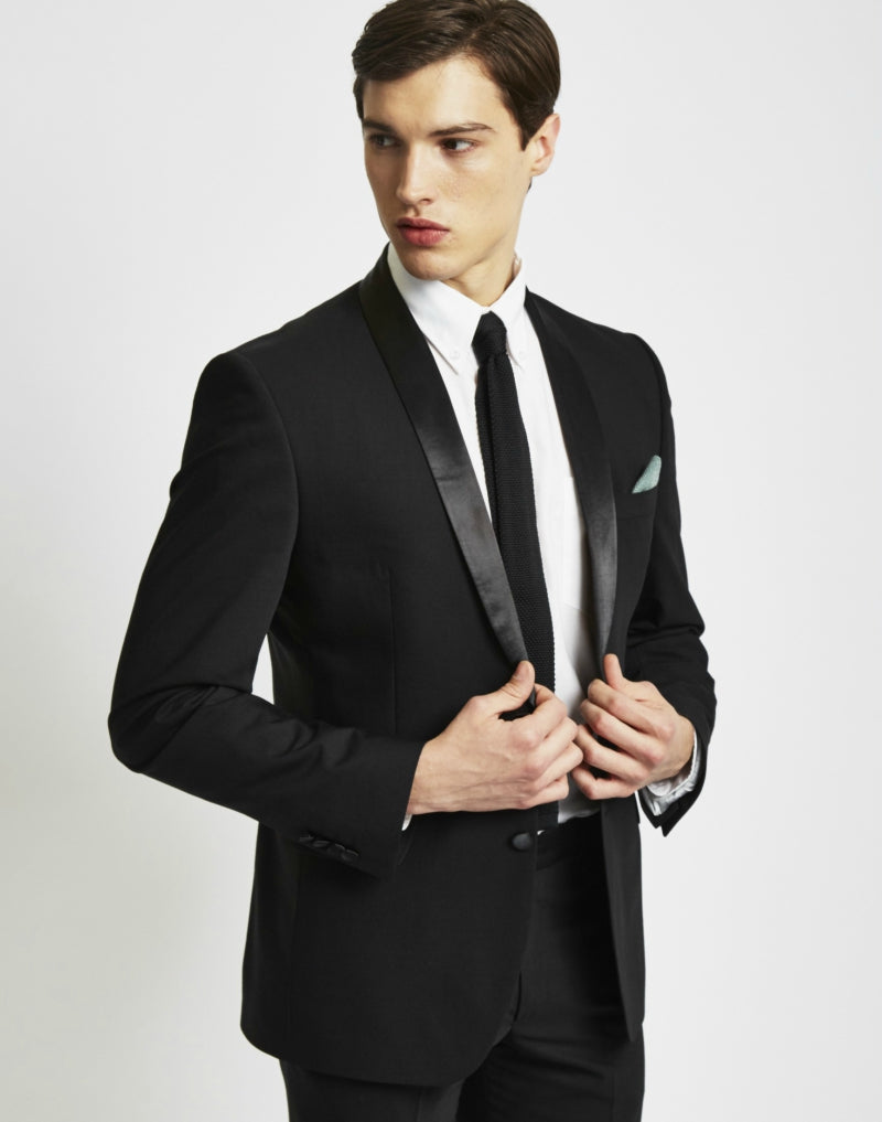 THE IDLE MAN mens Tuxedo Jacket in Slim Fit