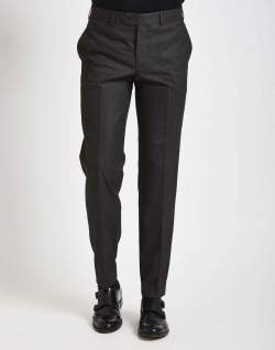 The Idle Man grey trousers charcoal suit mens