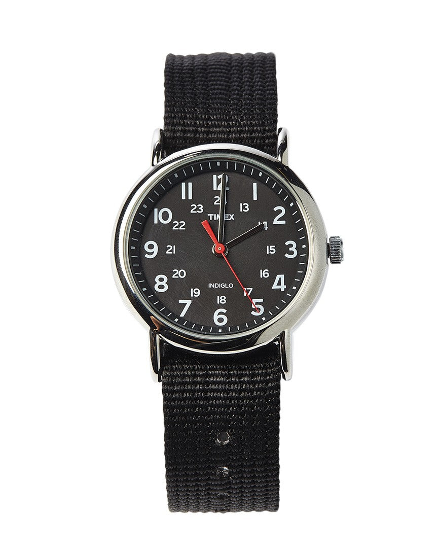 TIMEX Weekender Slip Through Strap- Black Watch