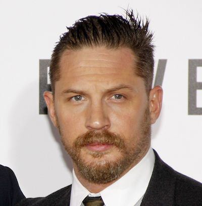 tom hardy cowlick men