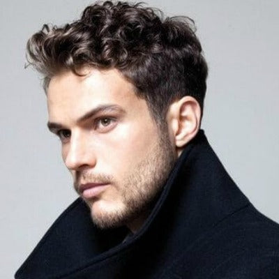 Hairstyles For Men With Curly Hair Long 105