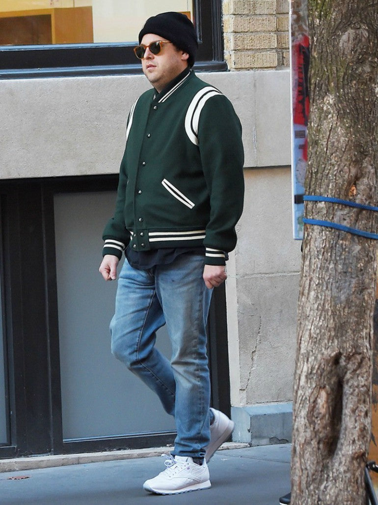 varsity-jacket-crew-neck-t-shirt-jeans-trainers