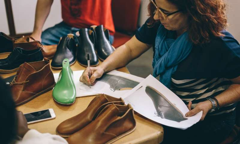 vivobarefoot in the factory