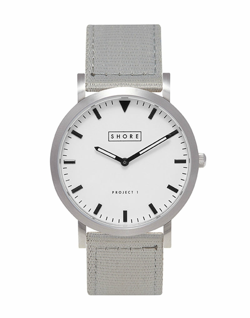 mens SHORE PROJECTS Project 1 Watch Grey