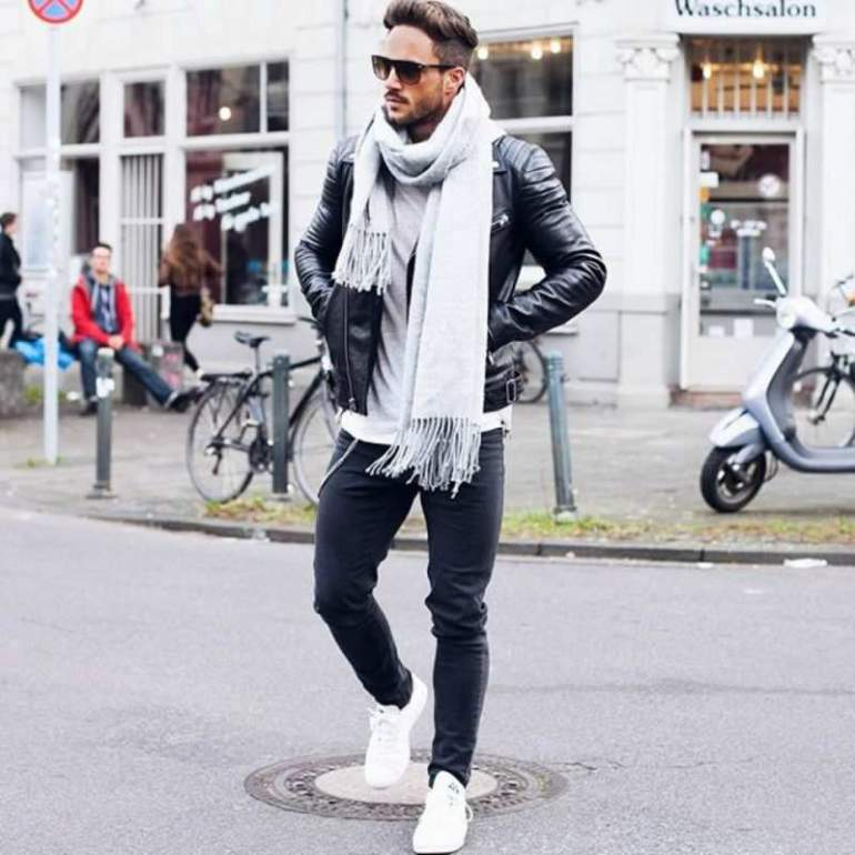 white-trainers-mens-street-style-leather-jacket-mens-street-style