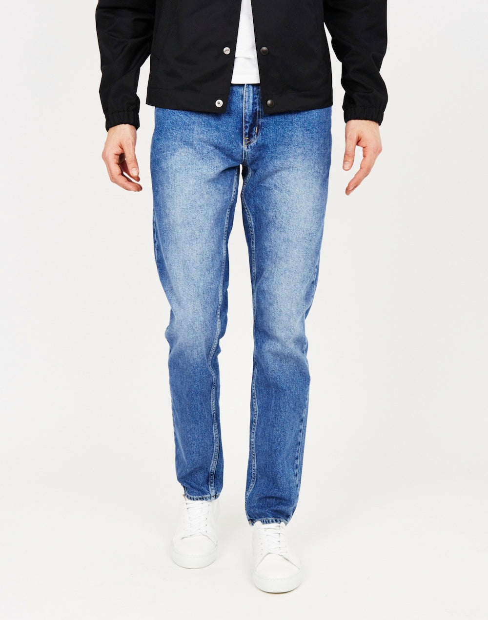 wood wood classic blue jeans men