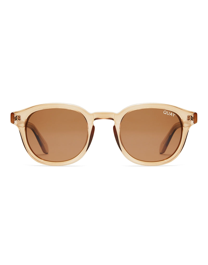Quay Australia - Walk On Toffee Sunglasses With Brown Lens