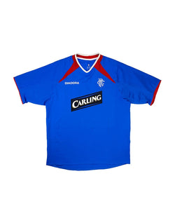 Classic Football Shirts - 2003-05 Rangers Home Shirt