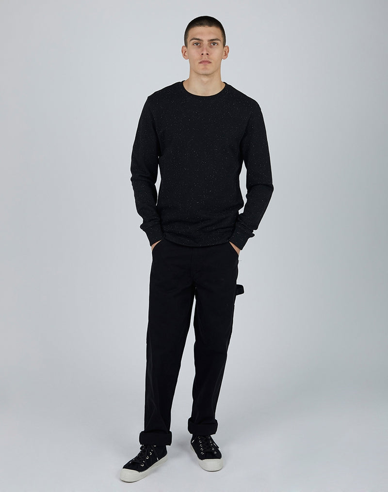 The Idle Man - Nep Sweatshirt Black