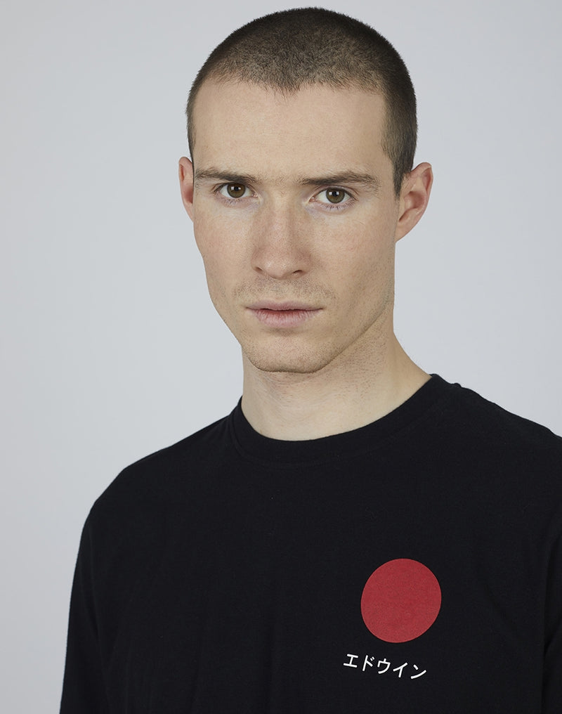 Edwin - Japanese Sun T-Shirt Black