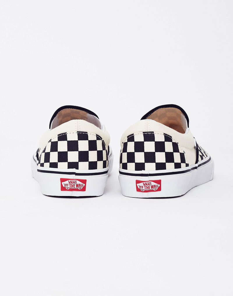 Vans - Slip-On Plimsolls Black & White Check