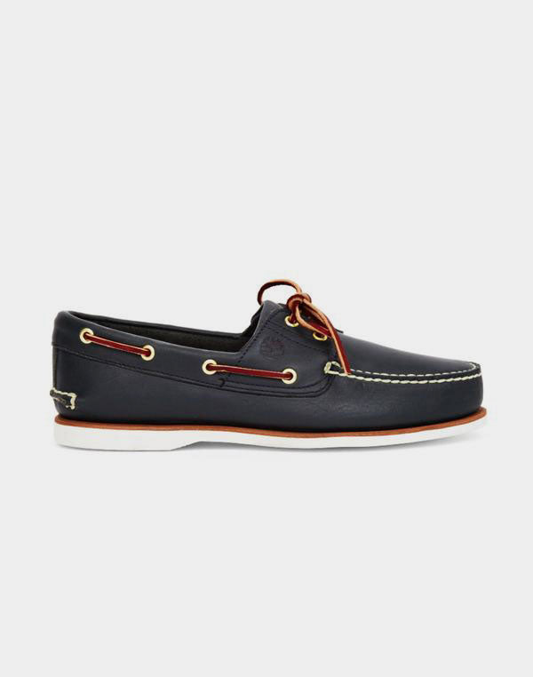 Timberland - Classic Boat Shoe Mid Blue
