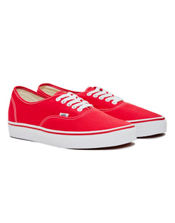 Vans - Authentic Trainer Red