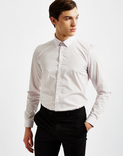 The Idle Man - SmarT-Shirt in Light Pink
