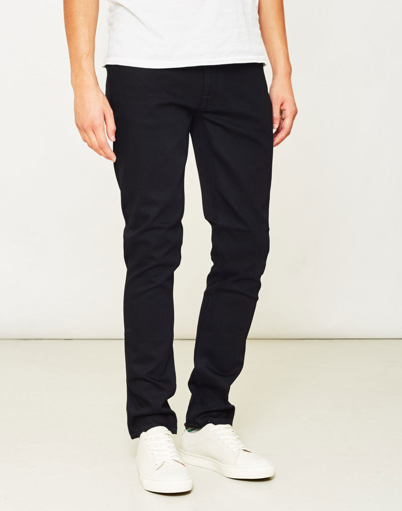Nudie Jeans Co - Lean Dean Dry Cold Black Jeans