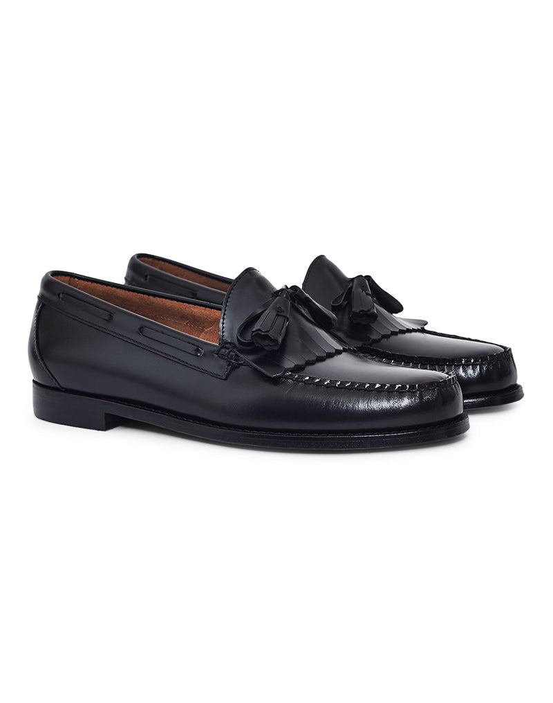G.H. Bass & Co. - Weejuns Tassle Loafers Black