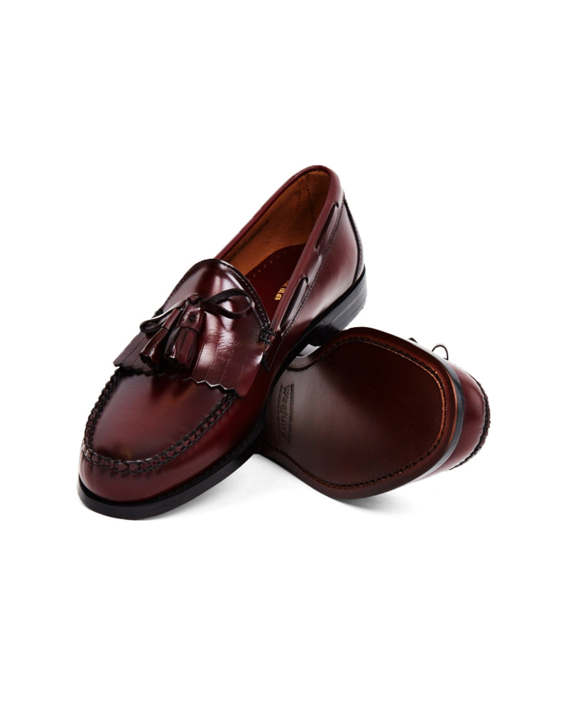 G.H. Bass & Co. - Weejuns Tassle Loafers Burgundy
