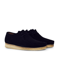 Clarks Originals - Suede Wallabee Natural Black