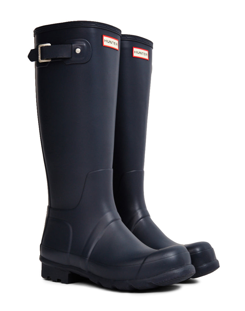 Hunter Original - Tall Rain Boot Navy