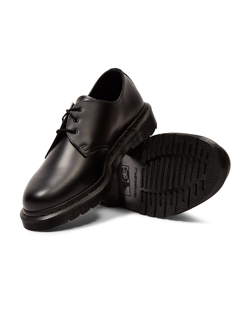 Dr Martens - 3 Eye Black Out Shoe Black