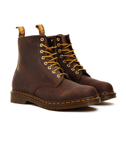 Dr Martens - 8 Eye Rugged Boots Brown