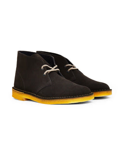 Clarks Originals - Suede Desert Boot Dark Grey