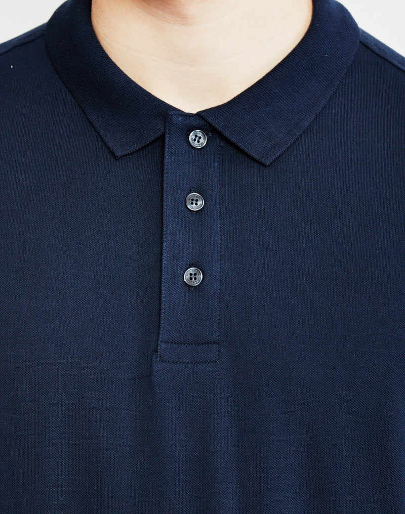 The Idle Man - Polo Shirt Navy