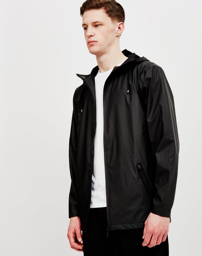 Rains - Breaker Jacket Black