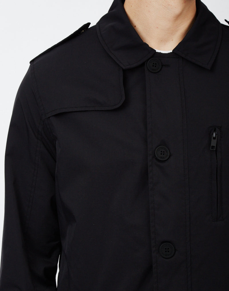 The Idle Man - Nylon Twill Mac Black
