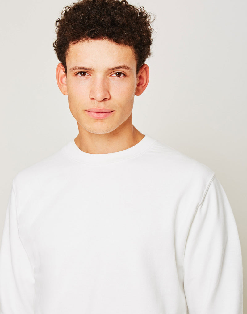 The Idle Man - Perfect Sweatshirt White