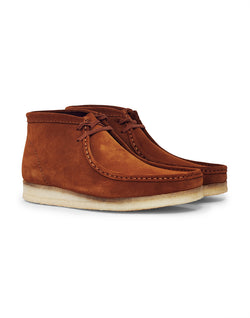 Clarks Originals - Suede Wallabee Boot Brown